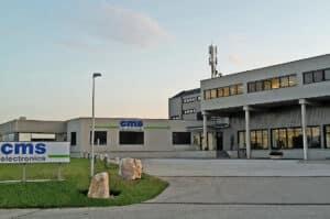 Der neue Stammsitz von cms electronics in Klagenfurt.