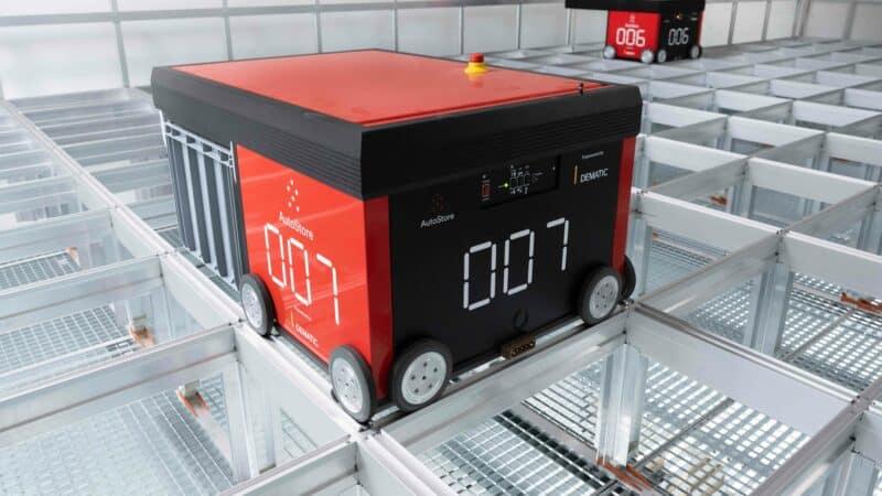 Dematic installiert AutoStore-Anlage bei Hersteller für Gebäudekommunikation Siedle