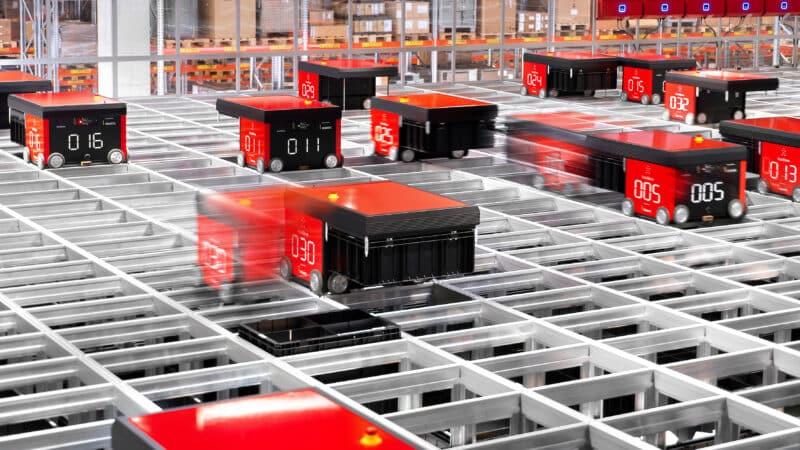 Dematic automatisiert Kleinteile-Lager im Siemens-Werk