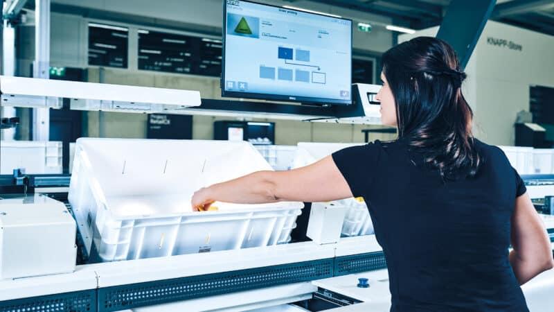 KNAPP-Shuttle-Lösung bringt mehr Durchsatz und Flexibilität
