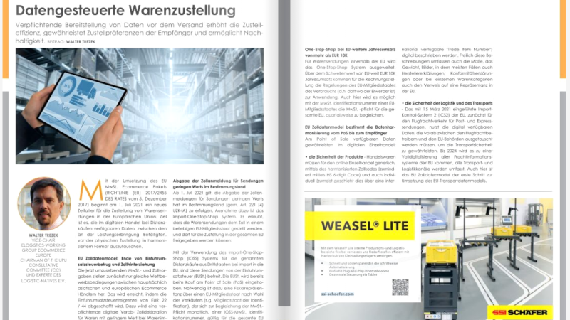 E-Commerce: Datengesteuerte Warenzustellung