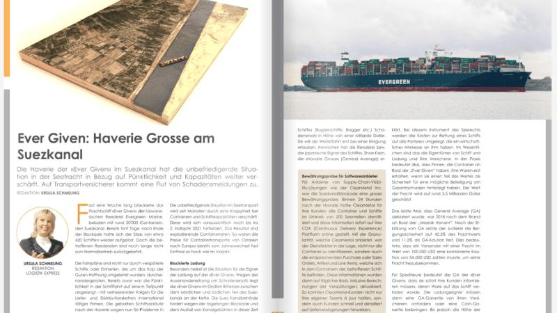 Ever Given: Haverie Grosse am  Suezkanal