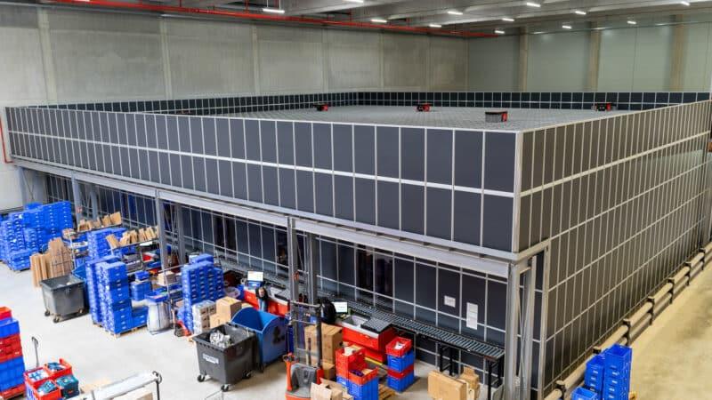 ONK kennzeichnet neues Logistikzentrum von Dönges