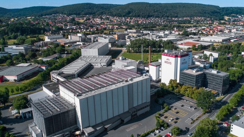 Hochregallager bei IREKS von AM Logistic Solutions erweitert