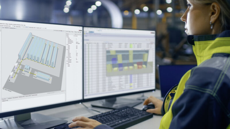 SSI Schäfer Software WAMAS® im 2021 Gartner Magic Quadrant für Warehouse Management Systeme gelistet