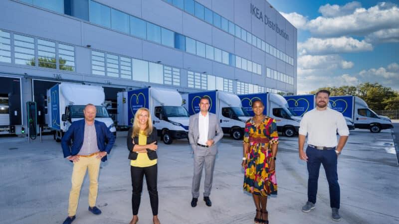 IKEA Österreich stellt Elektrofahrzeug-Flotte vor