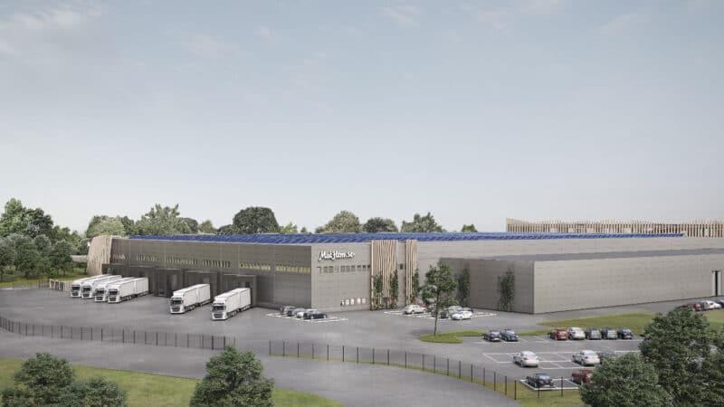 SSI Schäfer automatisiert neues Warenlager von Mathem in Larsboda, Schweden
