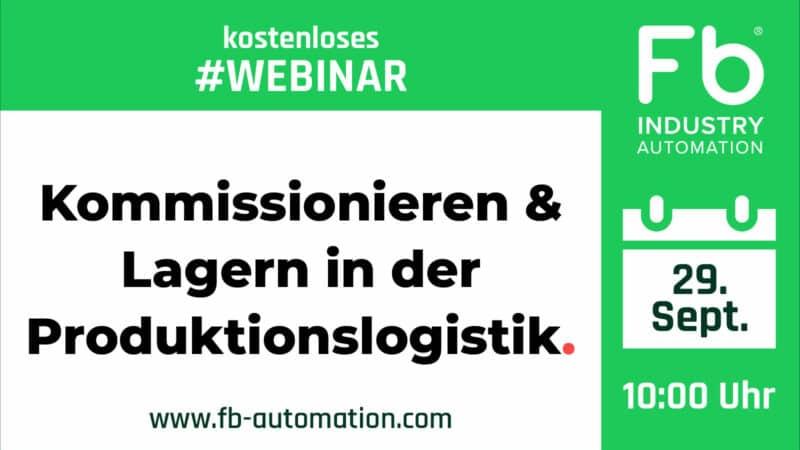 Fb Industry Automation: Kostenloses Webinar