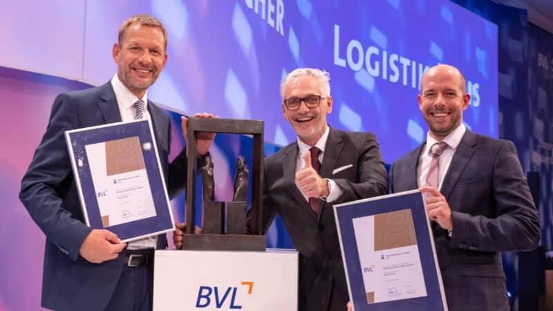 Deutscher Logistik Kongress: Deutschen Logistikpreis 2021 gewonnen